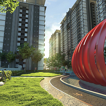 BSP21 serviced residence - over 70 facilities and amenities